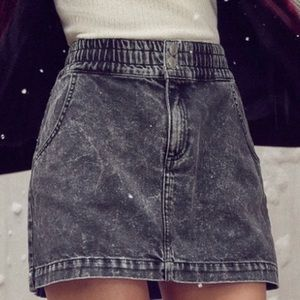 BDG Acid Wash Pencil Mini Skirt